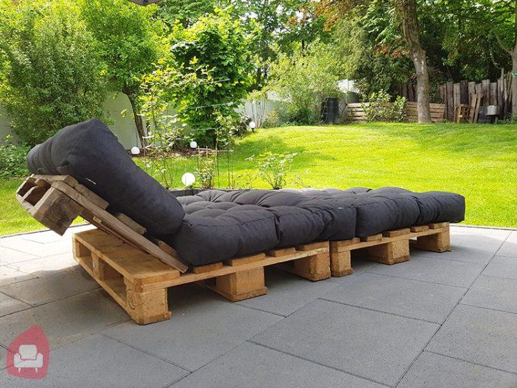 Europalette Lounge selber bauen